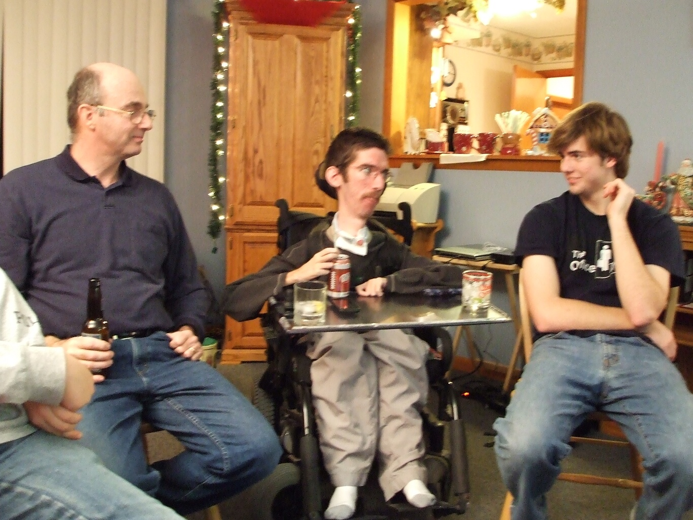 Scott Drotar with Dad, Ryan