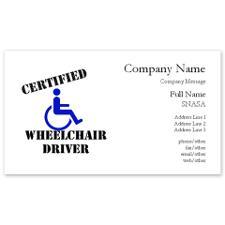 Scott Drotar Wheelchair Card
