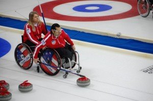 Scott Drotar Wheelchair Curling
