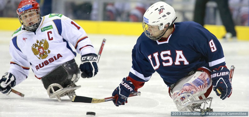 Scott Drotar Sledge Hockey