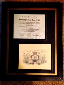 Scott Drotar Diploma