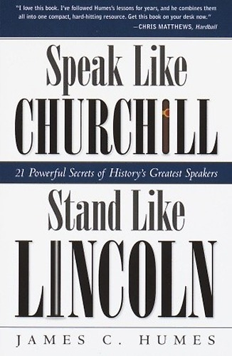 Scott Drotar Speak Like Churchill Stand Like Lincoln