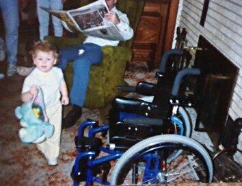 Scott Drotar First Wheelchair