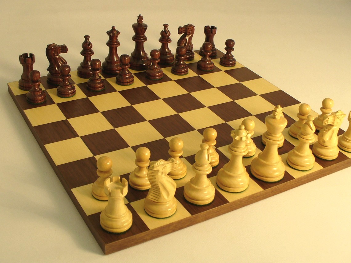 Check mate part 1 me time - Simple chess set ...