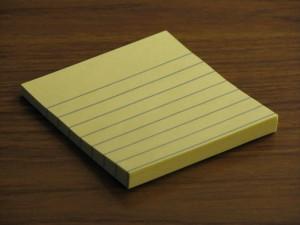 Scott Drotar Post-it Notes
