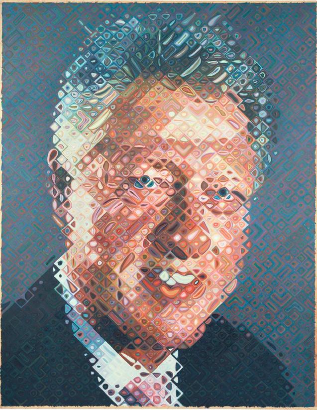 Scott Drotar Bill Clinton Portrait