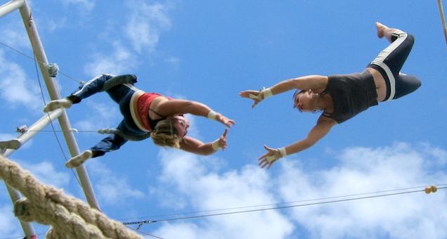 Scott Drotar Flying Trapeze