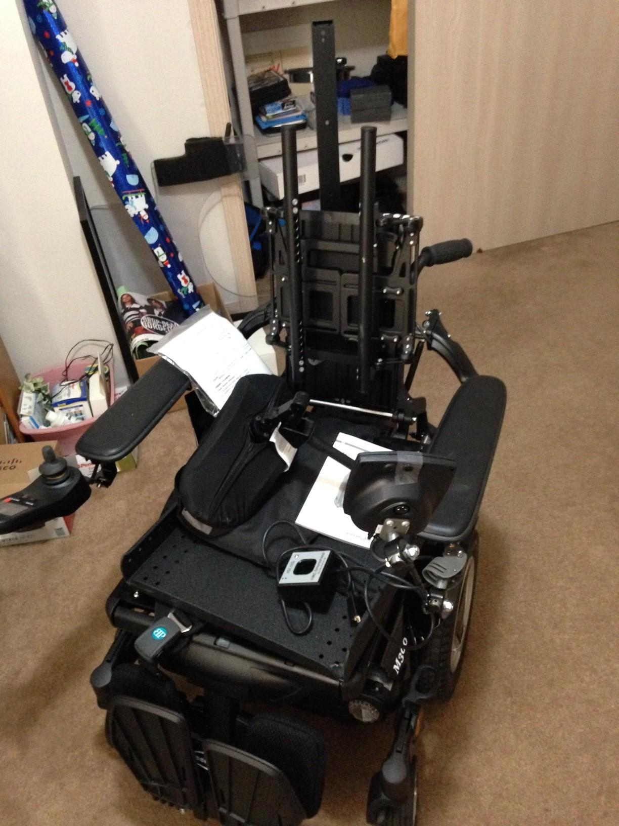 Scott Drotar New Wheelchair
